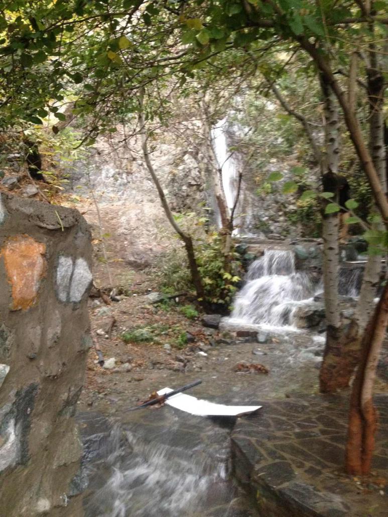 بام تهران توچال آبشار